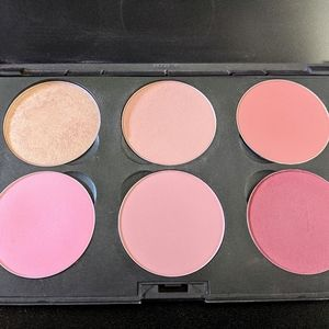 MAC 6 pan custom blush pallet